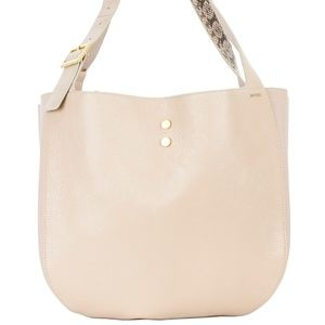 Jimmy Choo Dusty Pink Leather Handbag